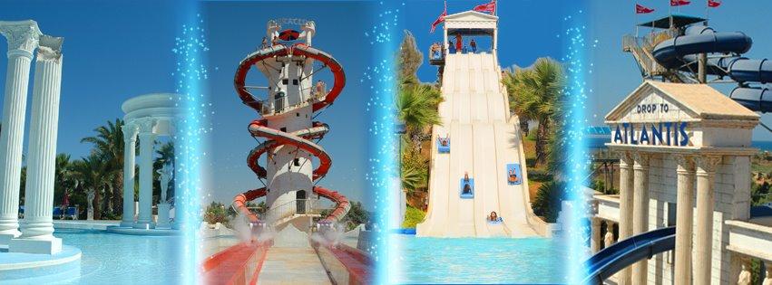 WaterWorld Agia Napa - Aquapark z mitologią w tle