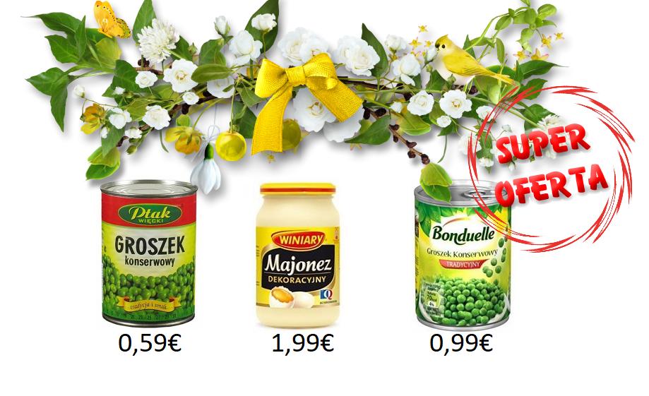 Trzy produkty w promocyjnych cenach - teraz kupicie w trzech miastach