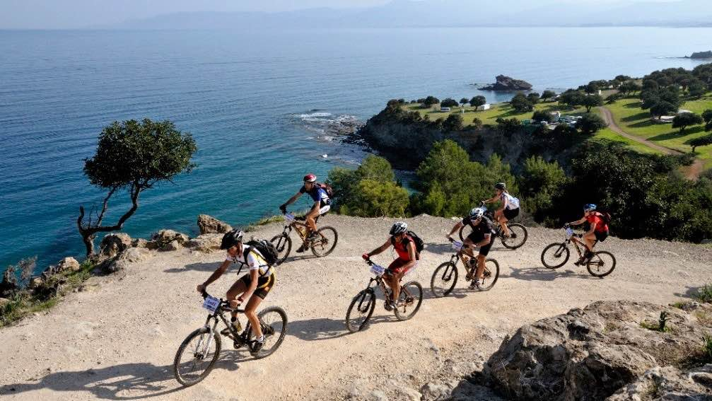 Ułatwienia dla rowerzystów w Troodos