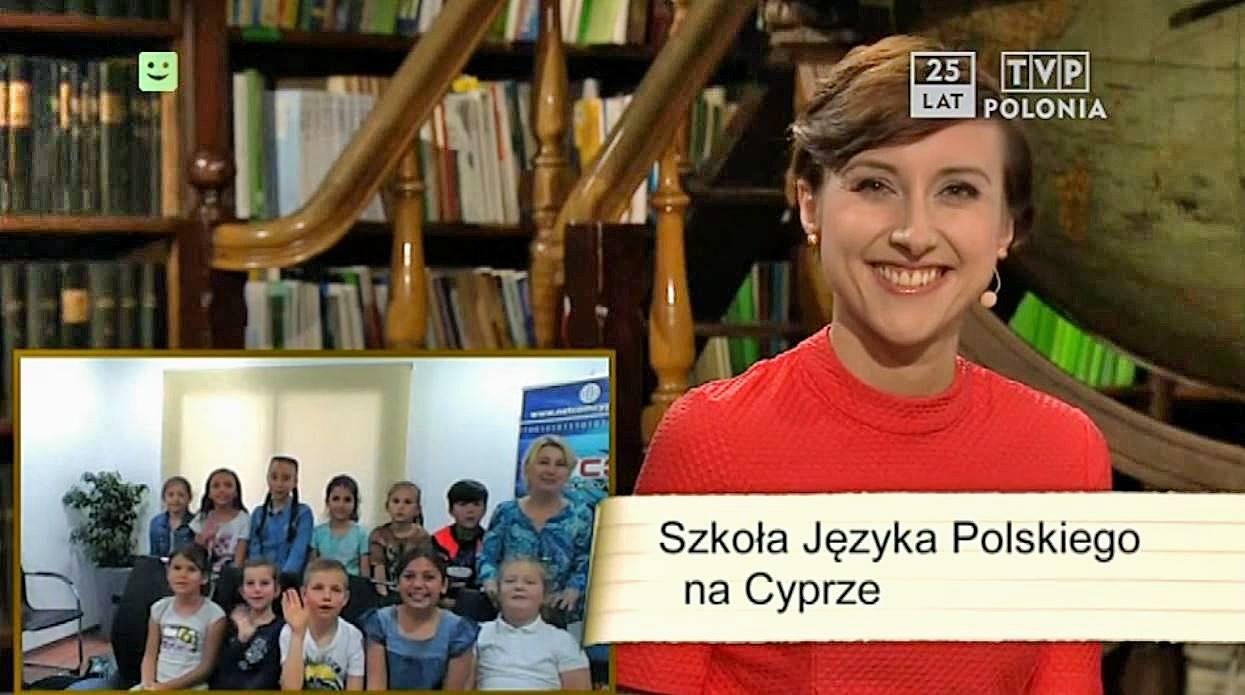 Dzieciaki ze szkoły języka polskiego w TVP Polonia! A Wy już zapisaliście swoje do polskiej szkoły?