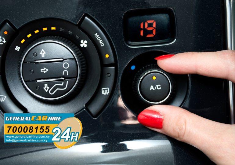 W samochodach General Car Hire klima działa na 100% a 20% to zniżka dla czytelników!