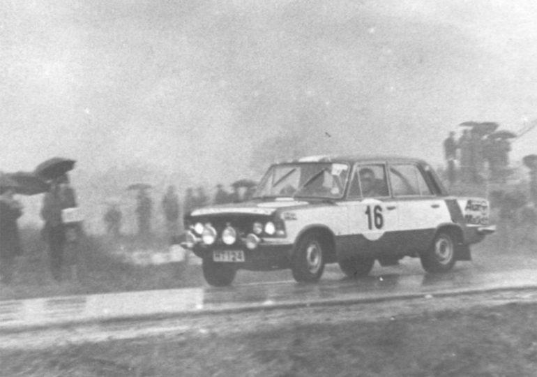 Cypryjczycy w Rajdzie Warszawskim startowali Fiatem 125p!