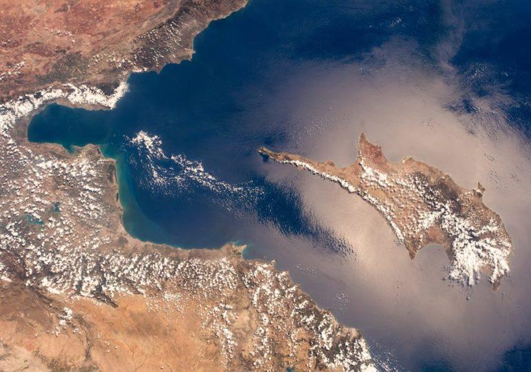 Cypr z kosmosu - świetne zdjęcia