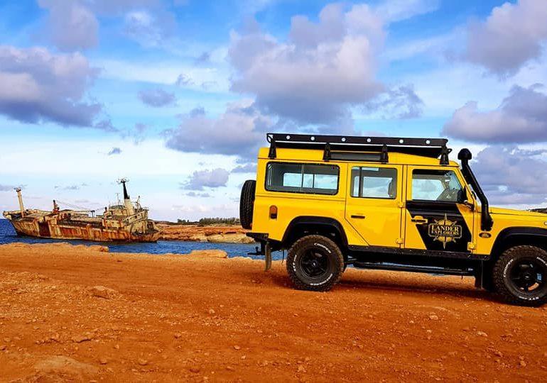 Jeep'em po Cyprze