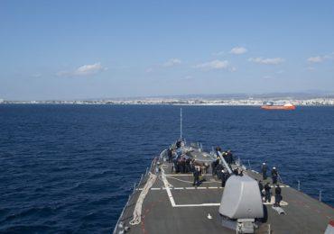 Po Rosjanach wpłynęli do Limassol Amerykanie
